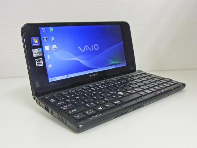中古ノートパソコン販売 VAIO type P VPCP11AKJ (ブラッククロコダイル) SONY