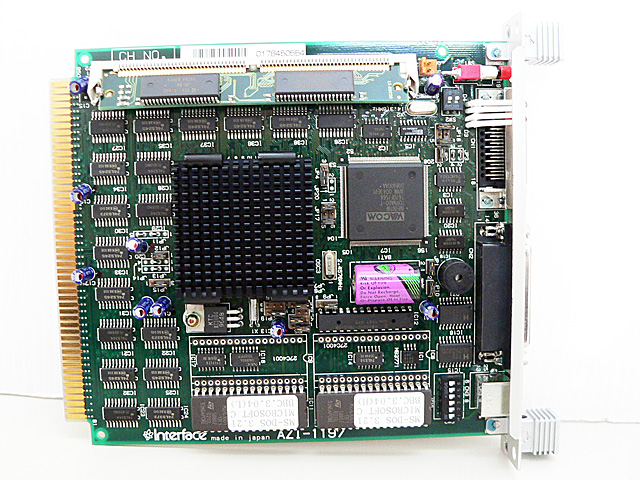 制御ボード販売 AZI-1197 Interface