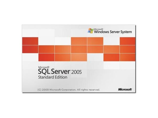 ソフトウェア販売 SQL Server 2005 Standard Edition 5CAL Microsoft