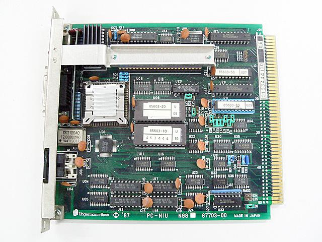 98ボード類販売 PC-NIU N98 87703-00 Ungermann-Bass