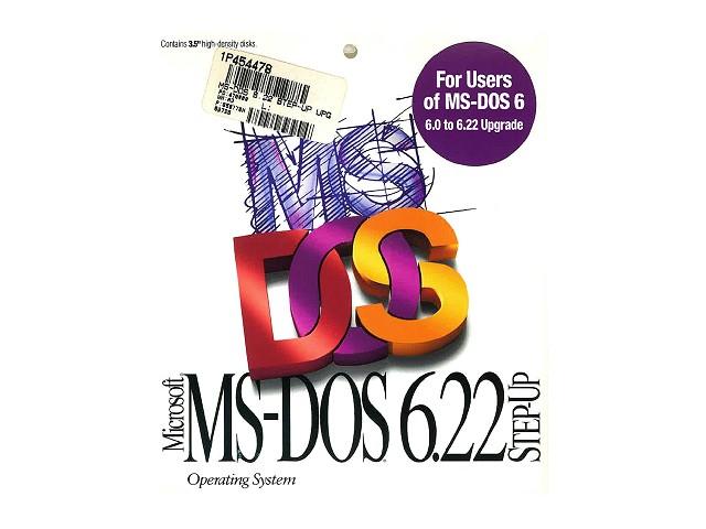 MS-DOS J6.22/V アップグレード 英語版