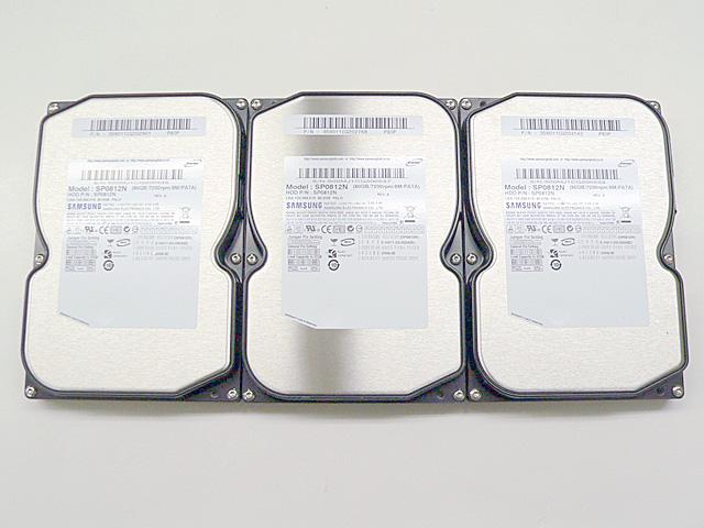98パーツ販売 PC-98デスク用 内蔵HDD 850MB (3個セット) 各種メーカー