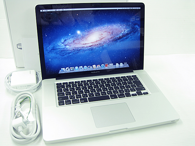 MacBook Pro Core i7 2.7GHz 15.4インチ
