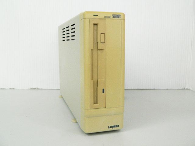 98周辺機器販売 外付3.5インチFDシングルドライブ LFD-331 Logitec