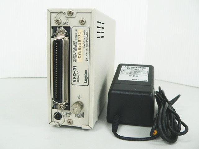 98周辺機器販売 外付3.5インチFDシングルドライブ SFD-31 Logitec