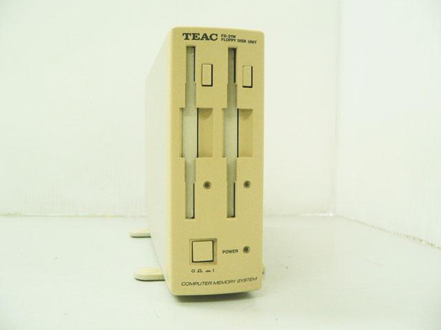98周辺機器販売 外付3.5インチFDダブルドライブ FD-31W TEAC