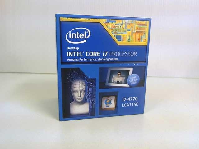 CPU Core i7 4770