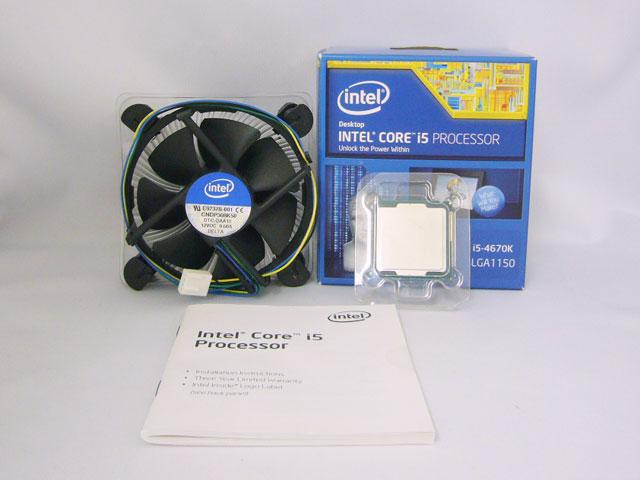 CPU Core i5 4670K