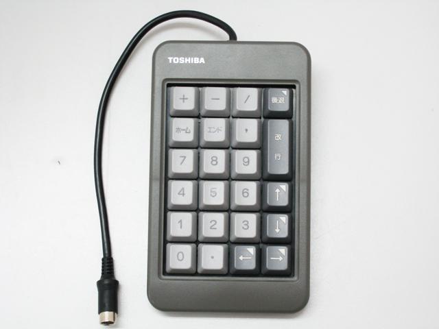 ワープロ周辺販売 テンキー(UE0267P02) Rupo対応  TOSHIBA