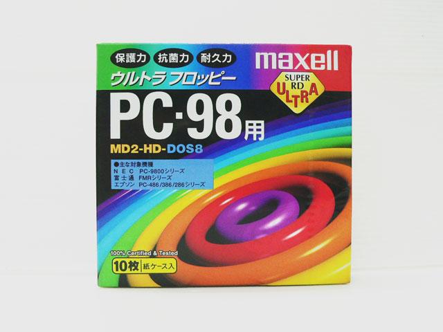 98サプライ販売 5インチ 2HD フロッピーディスク(10枚組) フォーマット済 maxell