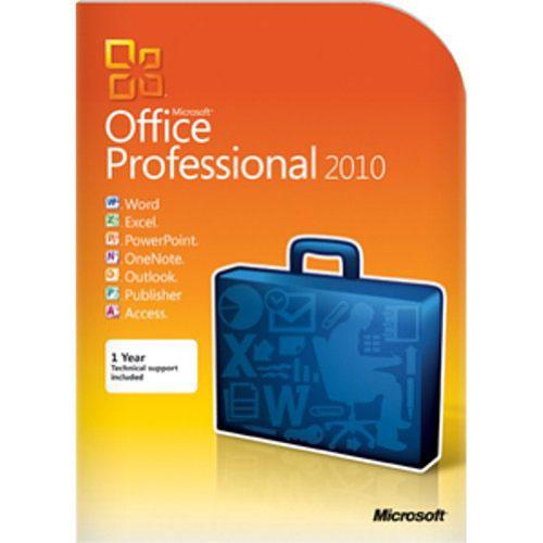 ソフトウェア販売 Office Professional 2010  英語版 Microsoft