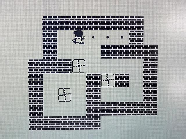 ワープロ周辺販売 倉庫番 ゲームディスク 富士通