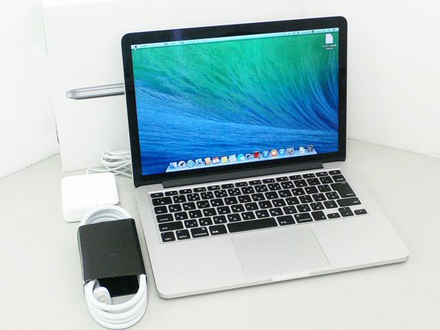 MacBook Pro Core i5 2.4GHz 13.3インチ(RetinaDisplay)