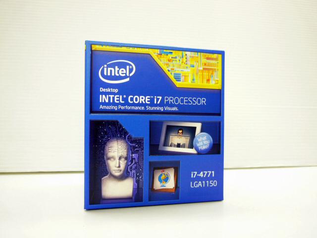 CPU Core i7 4771