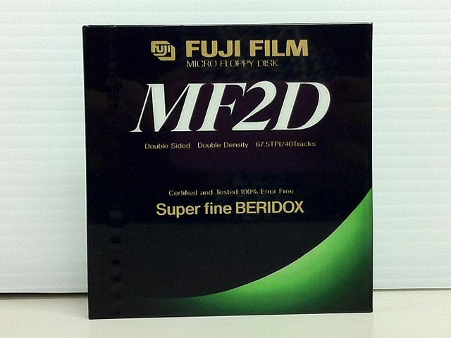 3.5インチ 2DD フロッピーディスク(2枚組)