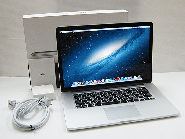 MacBook Pro Core i7 2.7GHz 15.4インチ(RetinaDisplay)