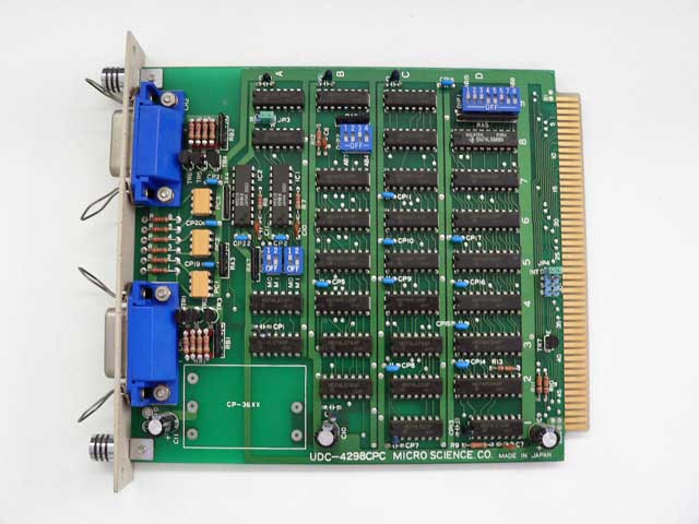 98ボード類販売 UDC-4298CPC MICRO SCIENCE