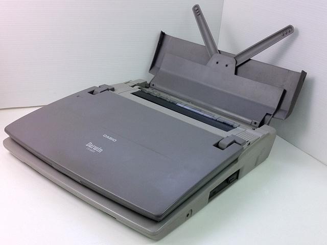 98ワープロ販売 ダーウィン CX-6800 CASIO