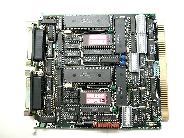 制御ボード販売 SIO-2S/4S(98)H CONTEC