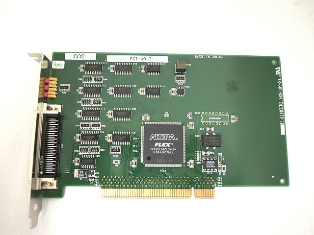 制御ボード販売 PCI-4913 Interface