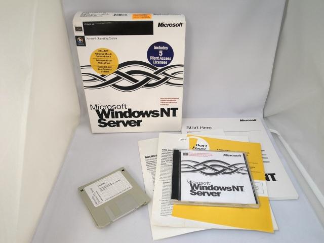 Windows NT 4.0 Server 英語版
