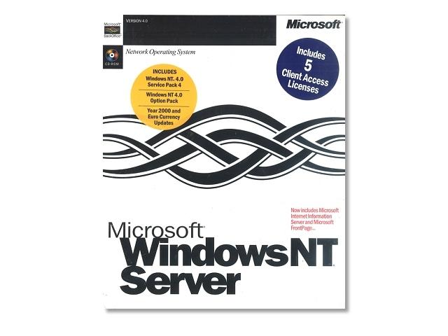 ソフトウェア販売 Windows NT 4.0 Server 英語版 Microsoft