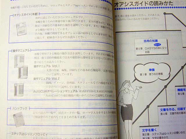 ワープロ周辺販売 30-LX401/LX405 説明書 ガイド4冊セット 富士通