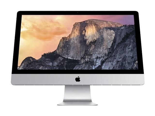 iMac Retina 5K intel Core i7 4GHz 27インチ Silver (2014/10)