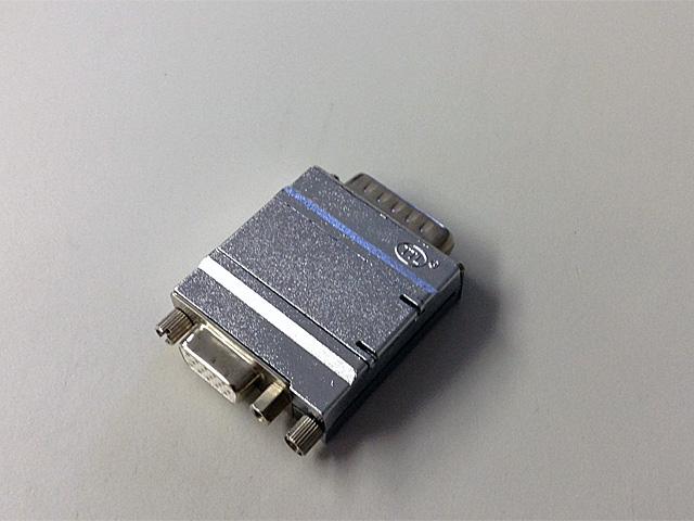 モニタ変換コネクタ(2列オス→3列メス)DIPスイッチ付き