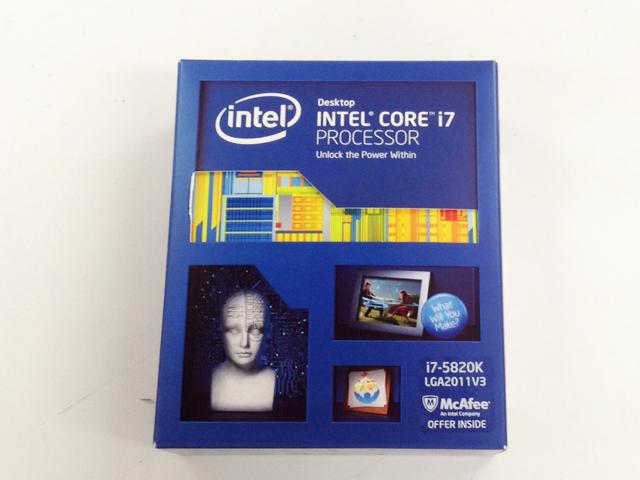 CPU Core i7 5820K