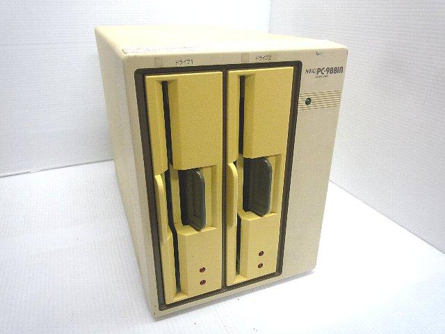98周辺機器販売 外付8インチFDダブルドライブ PC-9881n NEC