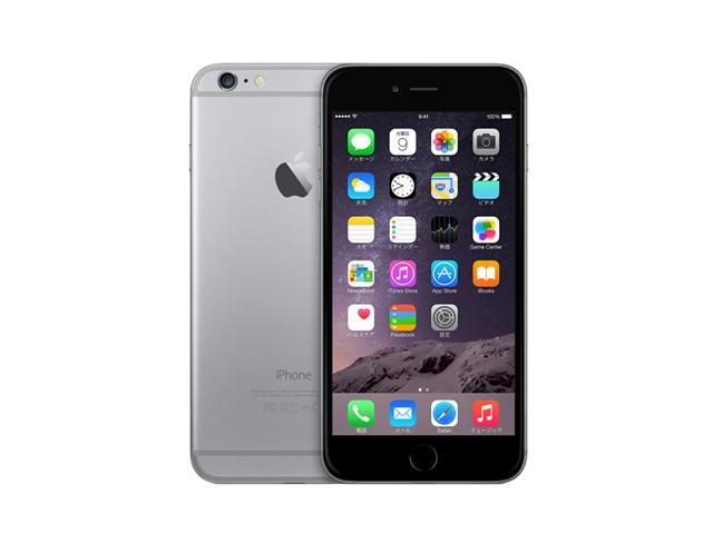 iPhone 6 64GB SpaceGray MG4F2J/A au版