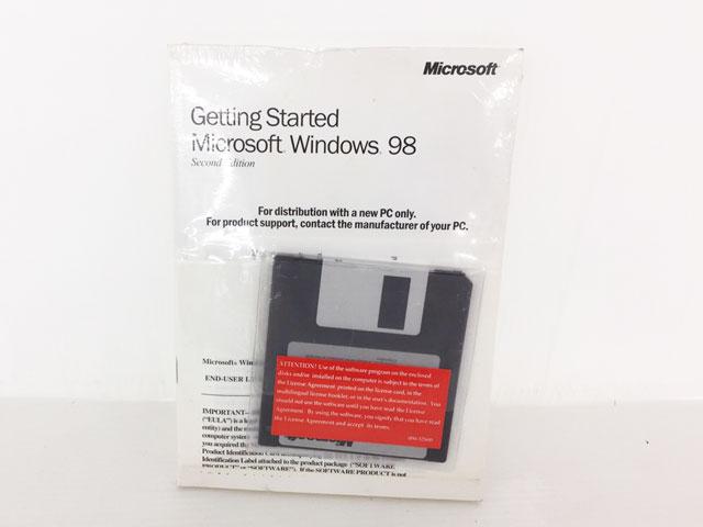 Windows98 SecondEdition OEM 英語版 +メモリ