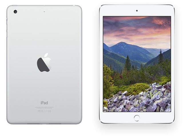 iPad mini 3 Retina Wi-Fi+Cellular モデル 64GB Silver MGJ12J/A au版