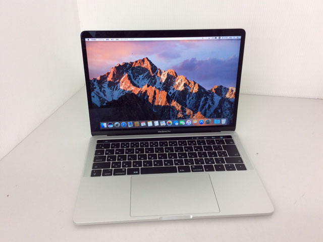 MacBook Pro Core i7 2.7GHz 15.4インチ(TouchBarモデル) Silver