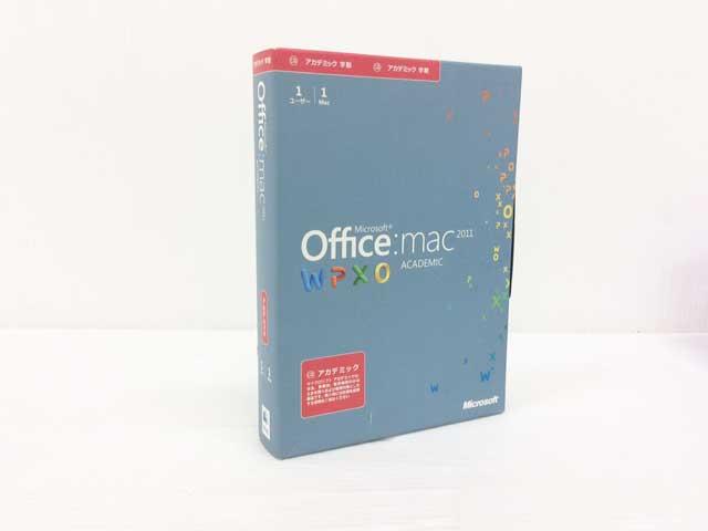 office Mac 2011 ACADEMIC 1PAC(1ユーザー版)日本語版