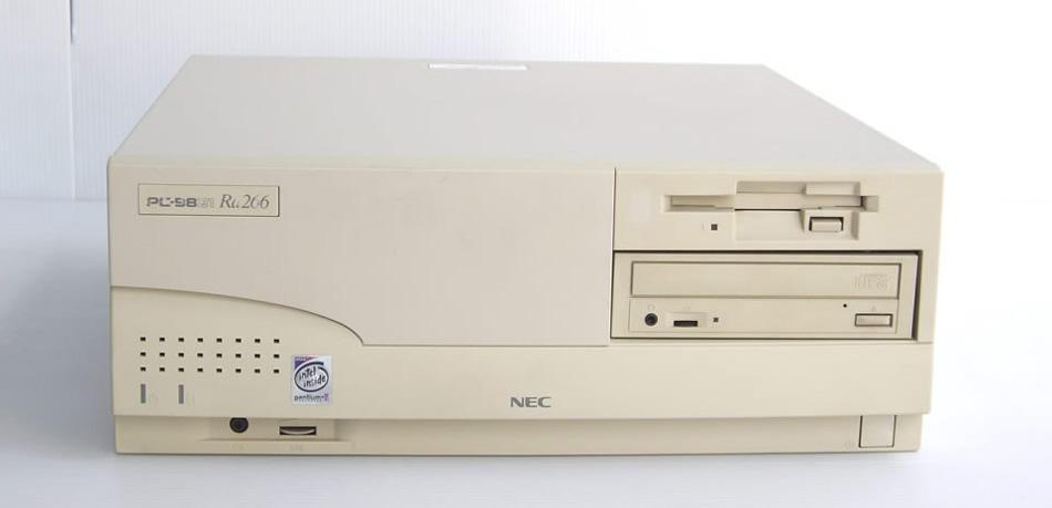 98デスクトップ販売 PC-9821Ra266 NEC