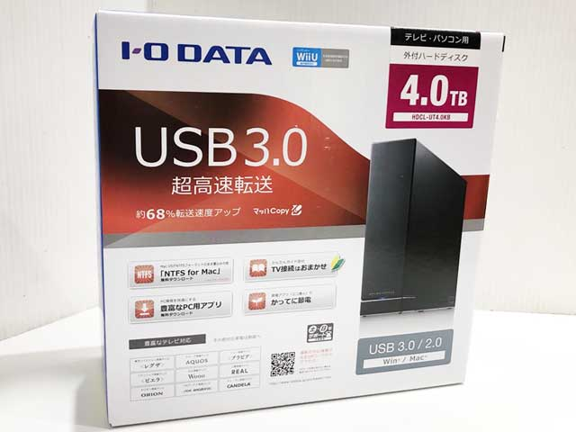 I-O DATA HDCL-UT4.0KB
