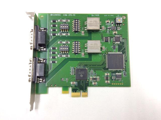制御ボード販売 COM-2PD-PE(PCI Express) CONTEC