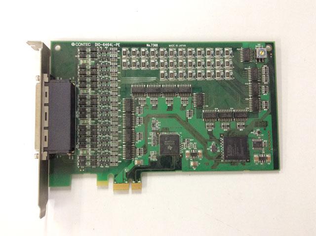 制御ボード販売 DIO-6464L-PE(PCI Express) CONTEC