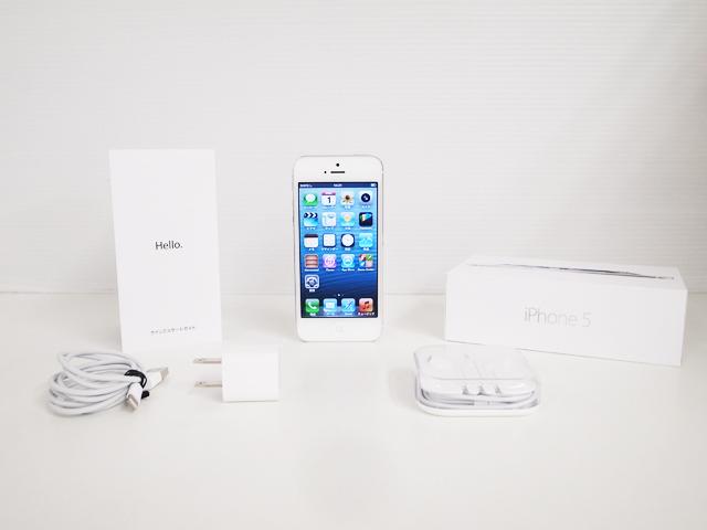 iPhone 5 16GB White ME040J/A au版