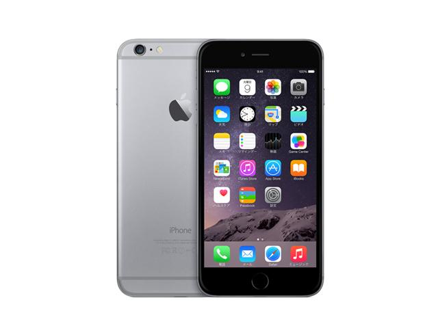 iPhone 6s 16GB SpaceGray MKQJ2J/A au版
