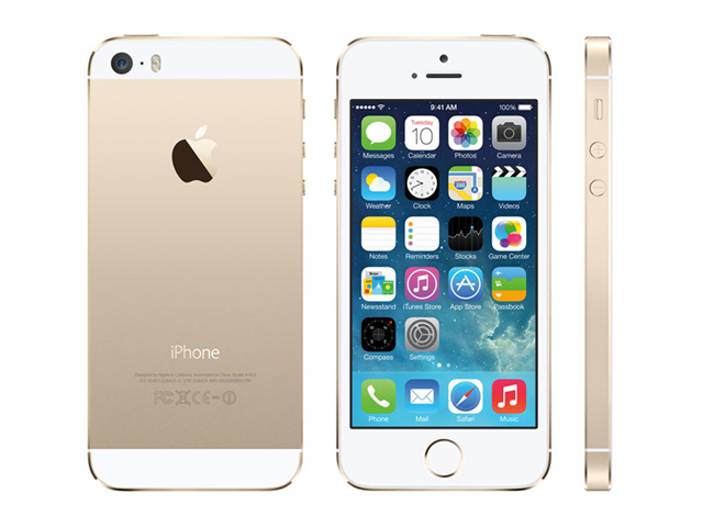 iPhone 5s 64GB Gold ME337J/A au版