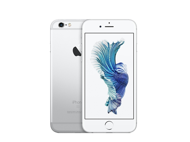 iPhone 6s 128GB silver MKQU2J/A docomo版