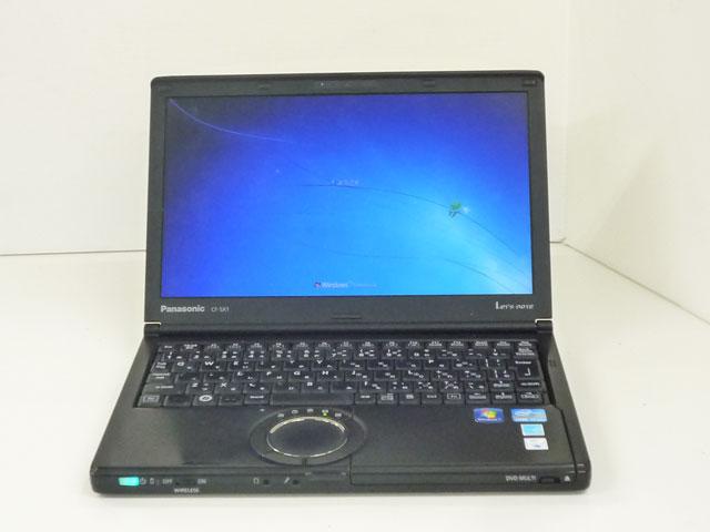 中古ノートパソコン販売 Let's note CF-SX1G24DS Panasonic