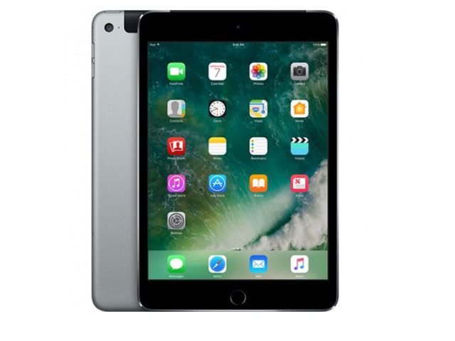 iPad mini 4 Wi-Fi+Cellular モデル 16GB Space Gray MK6Y2J/A au版