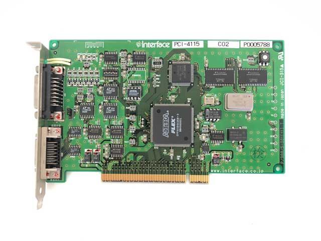 制御ボード販売 PCI-4115/LAP-B(1)N interface