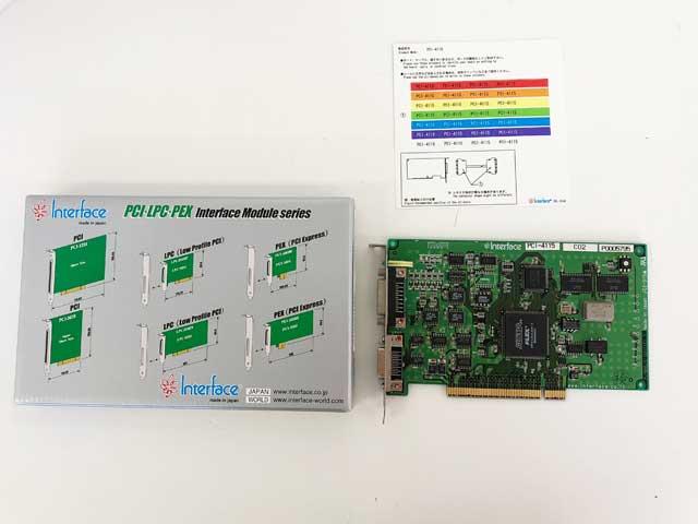 制御ボード販売 PCI-4115 interface