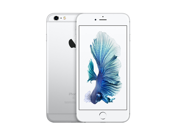 iPhone 6s Plus 128GB Silver MKUE2J/A au版