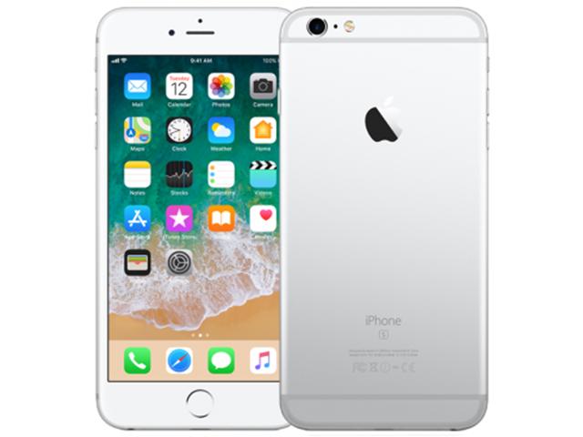 iPhone 6s Plus 128GB silver MKUE2J/A SoftBank版
